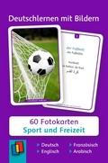 Deutschlernen mit Bildern - Sport und Freizeit