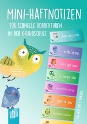Mini-Haftnotizen für schnelle Korrekturen in der Grundschule