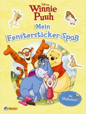 Disney Winnie Puuh: Mein Fenstersticker-Spaß