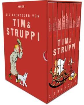 Die Abenteuer von Tim und Struppi, 8 Bde.