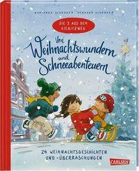 Die 3 aus dem Kiebitzweg - Von Weihnachtswundern und Schneeabenteuern