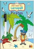 Immer wieder neu! Lernspaß Piraten - Mit abwischbarem Stift