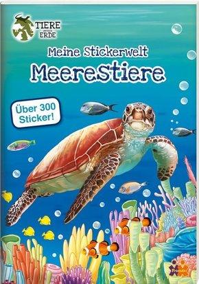 Meine Stickerwelt - Meerestiere