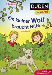 Duden Leseprofi 2. Klasse - Ein kleiner Wolf braucht Hilfe