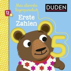 Duden - Mein allererstes Fingerspurenbuch - Erste Zahlen