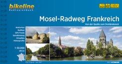Bikeline Radtourenbuch Mosel-Radweg Frankreich