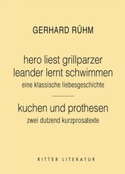 hero liest grillparzer. leander lert schwimmen. eine klassische liebesgeschichte.