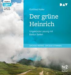 Der grüne Heinrich, 3 MP3-CDs