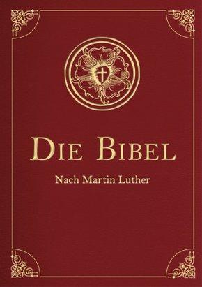 Die Bibel, Lutherübersetzung (illustrierte Geschenkausgabe, Cabra-Leder)