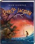 Percy Jackson - Diebe im Olymp (Farbig illustrierte Schmuckausgabe)