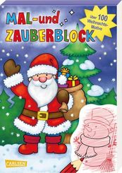 Mal- und Zauberblock: Weihnachten