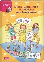 Silben-Geschichten für Mädchen zum Lesenlernen