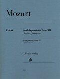 Streichquartette, 2 Violinen, Viola, Violoncello; Stimmensatz - Bd.3