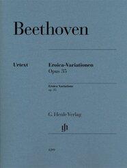 Eroica-Variationen op. 35, Klavier