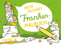 Mein kleines Franken-Malbuch