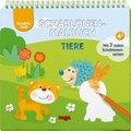 Kreativ Kids Schablonen-Malbuch Tiere