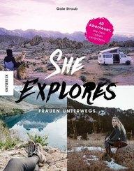 She Explores. Frauen unterwegs.
