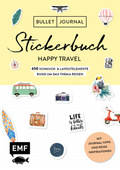 Bullet Journal - Stickerbuch Happy Travel