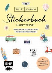 Bullet Journal - Stickerbuch Happy Travel