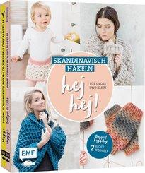 hej hej! Skandinavisch häkeln für Groß und Klein, 2 Bde.