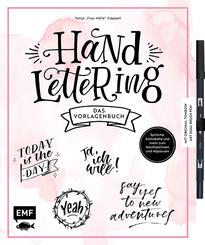 Handlettering - Das Vorlagenbuch, m. original Tombow ABT Dual Brush Pen