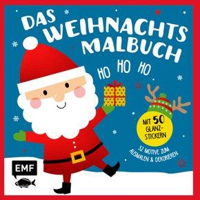 Ho, ho, ho - Das Weihnachts-Malbuch