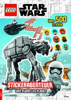 LEGO® Star Wars(TM) - Stickerabenteuer - von Planet zu Planet