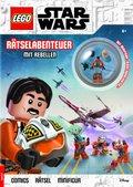 """LEGO® Star Wars(TM) - Rätselabenteuer mit Rebellen (Mit LEGO® Minifigur """"Biggs Darklighter"""")"""