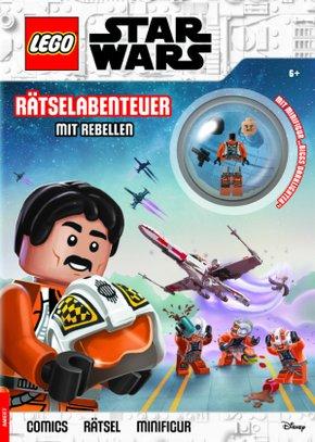 LEGO® Star Wars(TM) - Rätselabenteuer mit Rebellen, m. Minifigur
