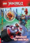 LEGO® NINJAGO® - Rätselspaß für coole Ninja, m. Minifigur (Kai)