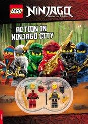 LEGO® NINJAGO®, Masters of Spinjitzu - Action in Ninjago City, m. 2 Minifiguren
