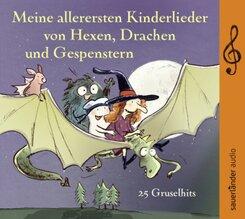 Meine allerersten Kinderlieder von Hexen, Drachen und Gespenstern, 1 Audio-CD