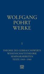 Theorie des Gebrauchswerts / Wissenschaftstheorie / Seminararbeiten / Texte 1969-1980