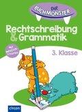 Die Buchmonster Rechtschreibung & Grammatik 3. Klasse