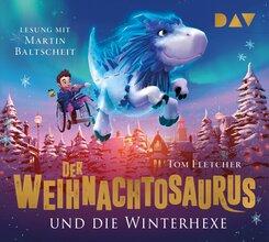 Der Weihnachtosaurus und die Winterhexe, 4 Audio-CDs