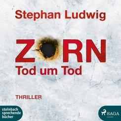 Zorn 9 - Tod um Tod, 2 Audio-CD, MP3