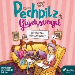 Agentur Pechpilz & Glücksvogel, 2 Audio-CDs