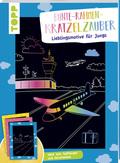 Bunte-Rahmen-Kratzelzauber - Lieblingsmotive für Jungs