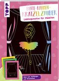 Bunte-Rahmen-Kratzelzauber - Lieblingsmotive für Mädchen