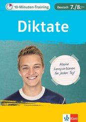 10-Minuten-Training Diktate Deutsch 7./8. Klasse