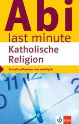 Klett Abi last minute Katholische Religion