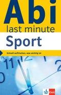 Klett Abi last minute Sport