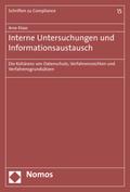 Interne Untersuchungen und Informationsaustausch