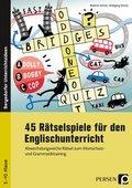 45 Rätselspiele für den Englischunterricht