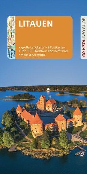 GO VISTA: Reiseführer Litauen, m. 1 Karte