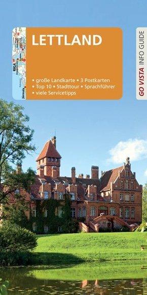 GO VISTA: Reiseführer Lettland, m. 1 Karte