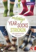 Woolly Hugs YEAR-Socks stricken