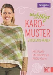 Woolly Hugs Karo-Muster stricken & häkeln