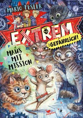 Extrem gefährlich! Maus mit Mission