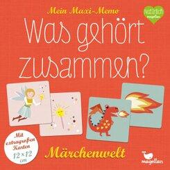 Mein Maxi-Memo - Was gehört zusammen? - Märchenwelt (Kinderspiel)